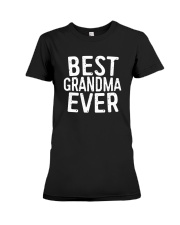 Best Grandma Ever T-Shirt Premium Fit Ladies Tee thumbnail