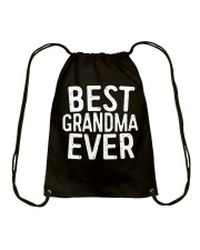 Best Grandma Ever T-Shirt Drawstring Bag thumbnail
