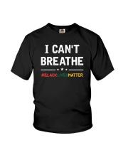 I Can't Breathe Black Lives Matter Shirt Youth T-Shirt thumbnail