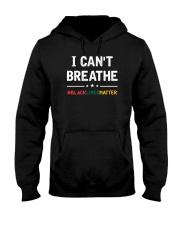 I Can't Breathe Black Lives Matter Shirt Hooded Sweatshirt thumbnail