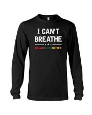 I Can't Breathe Black Lives Matter Shirt Long Sleeve Tee thumbnail
