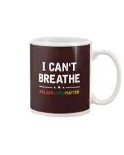 I Can't Breathe Black Lives Matter Shirt Mug thumbnail