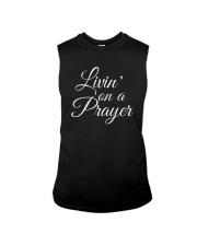 Livin on a Prayer Christian Shirt Sleeveless Tee thumbnail