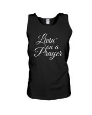Livin on a Prayer Christian Shirt Unisex Tank thumbnail