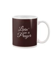 Livin on a Prayer Christian Shirt Mug thumbnail