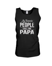 My favorite people call me papa Shirt Unisex Tank thumbnail