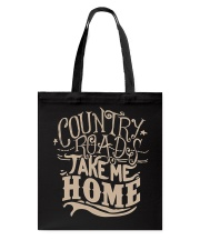 Country Roads Take Me Home T-shirt Tote Bag thumbnail