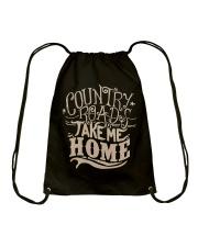 Country Roads Take Me Home T-shirt Drawstring Bag thumbnail