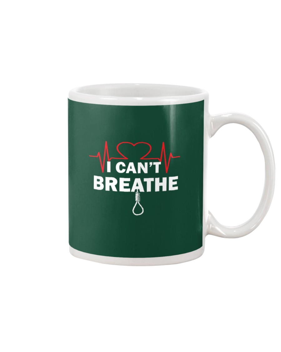 I Can't Breathe TShirt Mug