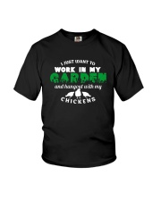 Work In My Garden And Hangout Shirt Youth T-Shirt thumbnail