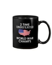 2 Time Undefeated World War Champs USA T-Shirt Mug thumbnail