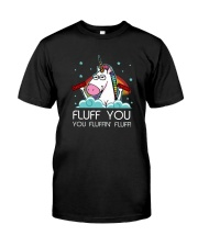 Fluff you you fluffin'you Unicorn T-shirt Premium Fit Mens Tee thumbnail