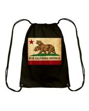 New California Republic T-Shirt Drawstring Bag thumbnail