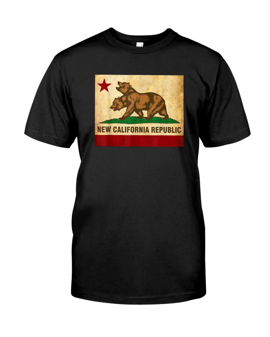New California Republic T-Shirt Classic T-Shirt