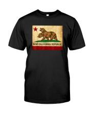 New California Republic T-Shirt Classic T-Shirt front
