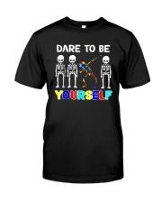 Sleketon Dabbing Autism Awareness  Classic T-Shirt thumbnail