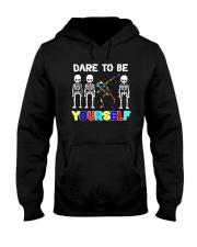 Sleketon Dabbing Autism Awareness  Hooded Sweatshirt thumbnail