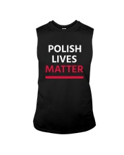 Polish Lives Matter T-Shirt Sleeveless Tee thumbnail