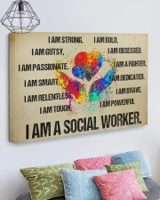 I AM A SOCIAL WORKER - CANVAS 30x20 Gallery Wrapped Canvas Prints aos-canvas-pgw-30x20-lifestyle-front-02