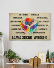 I AM A SOCIAL WORKER - CANVAS 30x20 Gallery Wrapped Canvas Prints aos-canvas-pgw-30x20-lifestyle-front-03