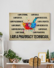 canvas pharmacy technician watercolor 30x20 Gallery Wrapped Canvas Prints aos-canvas-pgw-30x20-lifestyle-front-03