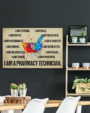 canvas pharmacy technician watercolor 30x20 Gallery Wrapped Canvas Prints aos-canvas-pgw-30x20-lifestyle-front-04