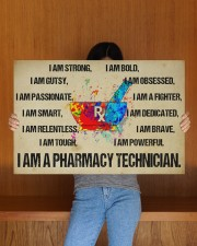 canvas pharmacy technician watercolor 30x20 Gallery Wrapped Canvas Prints aos-canvas-pgw-30x20-lifestyle-front-22