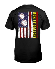MOM OF BALLERS Classic T-Shirt back