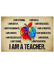 canvas teacher 36x24 Poster thumbnail