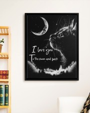 I LOVE YOU TO THE MOON AND BACK 11x14 Black Floating Framed Canvas Prints aos-floating-framed-canvas-pgw-11x14-black-lifestyle-front-05