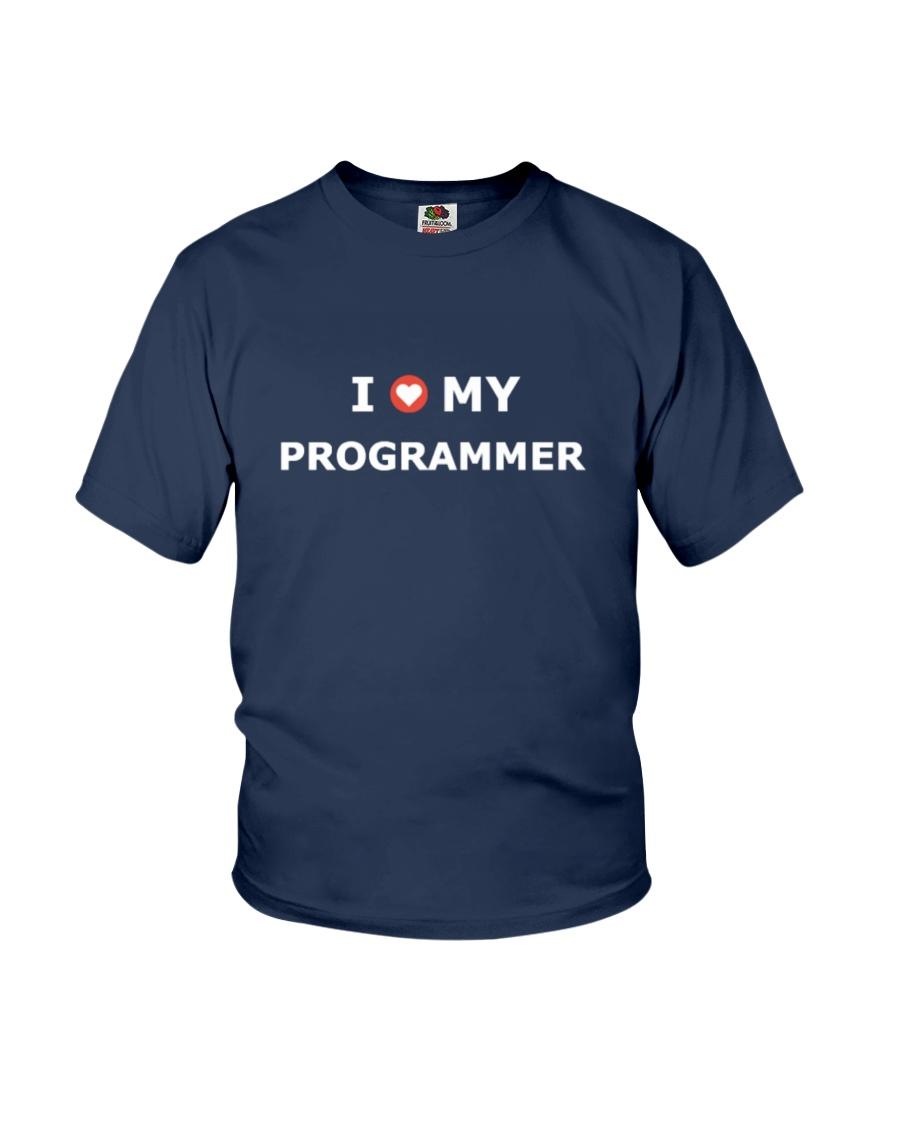 I LOVE MY PROGRAMMER Youth T-Shirt