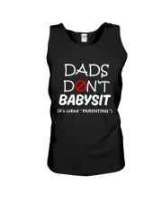 DADS DONT BABYSIT Unisex Tank front
