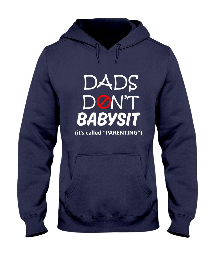 DADS DONT BABYSIT Hooded Sweatshirt