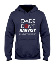 DADS DONT BABYSIT Hooded Sweatshirt front