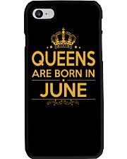 QUEENS ARE BORN IN JUNE Phone Case i-phone-7-case