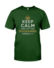 Let the programmer Classic T-Shirt front