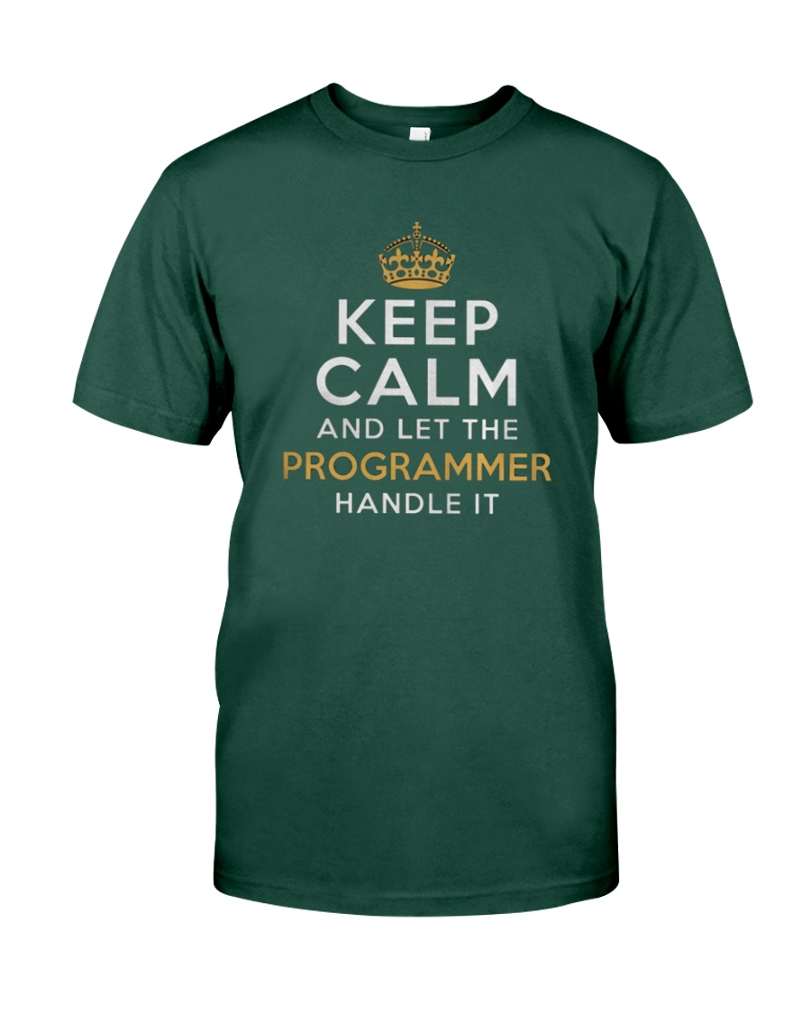 Let the programmer Premium Fit Mens Tee