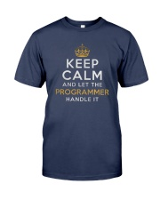 Let the programmer Premium Fit Mens Tee front