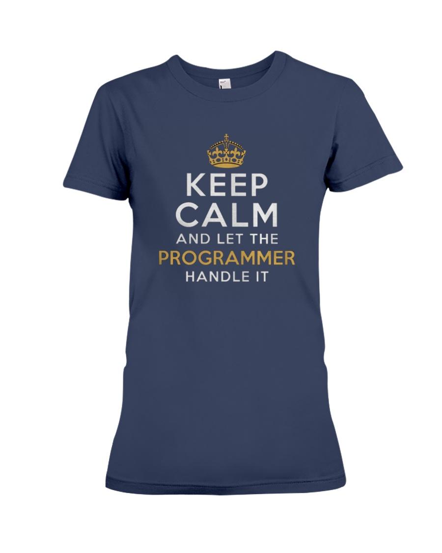 Let the programmer Premium Fit Ladies Tee