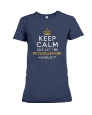 Let the programmer Premium Fit Ladies Tee front