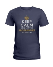 Let the programmer Ladies T-Shirt front