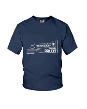 Project programmer Youth T-Shirt front