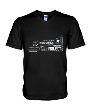 Project programmer V-Neck T-Shirt thumbnail
