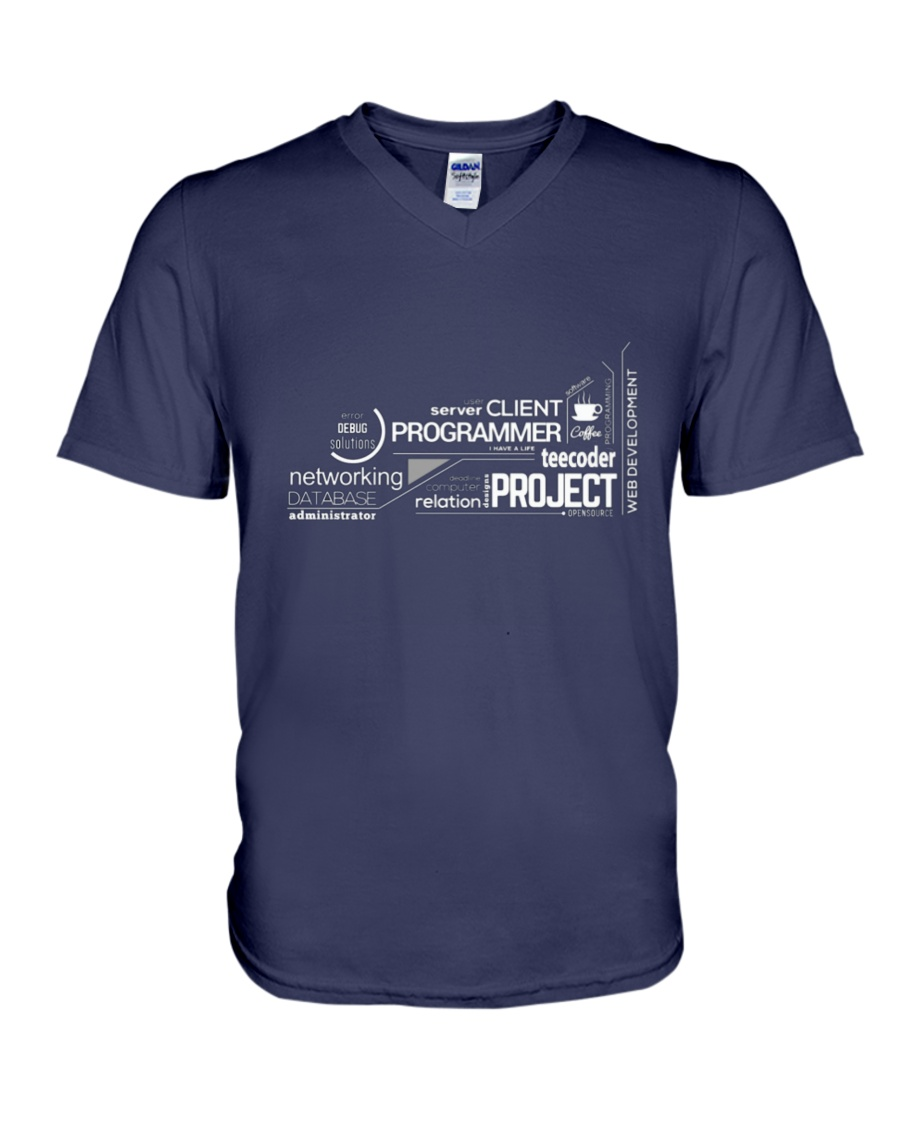 Project programmer V-Neck T-Shirt