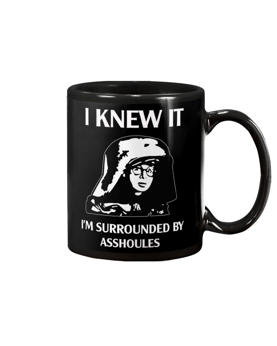 Dark Helmet Spaceballs I Knew It Mug
