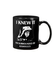 Dark Helmet Spaceballs I Knew It Mug front