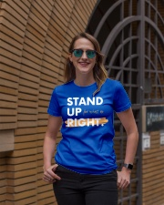 Stand Up For What Is Right Ladies Edition Premium Fit Ladies Tee lifestyle-women-crewneck-front-2