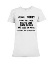 AUNTS Premium Fit Ladies Tee thumbnail
