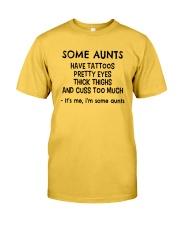 AUNTS Classic T-Shirt front