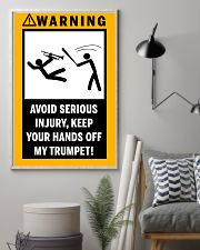 trumpet 16x24 Poster lifestyle-poster-1